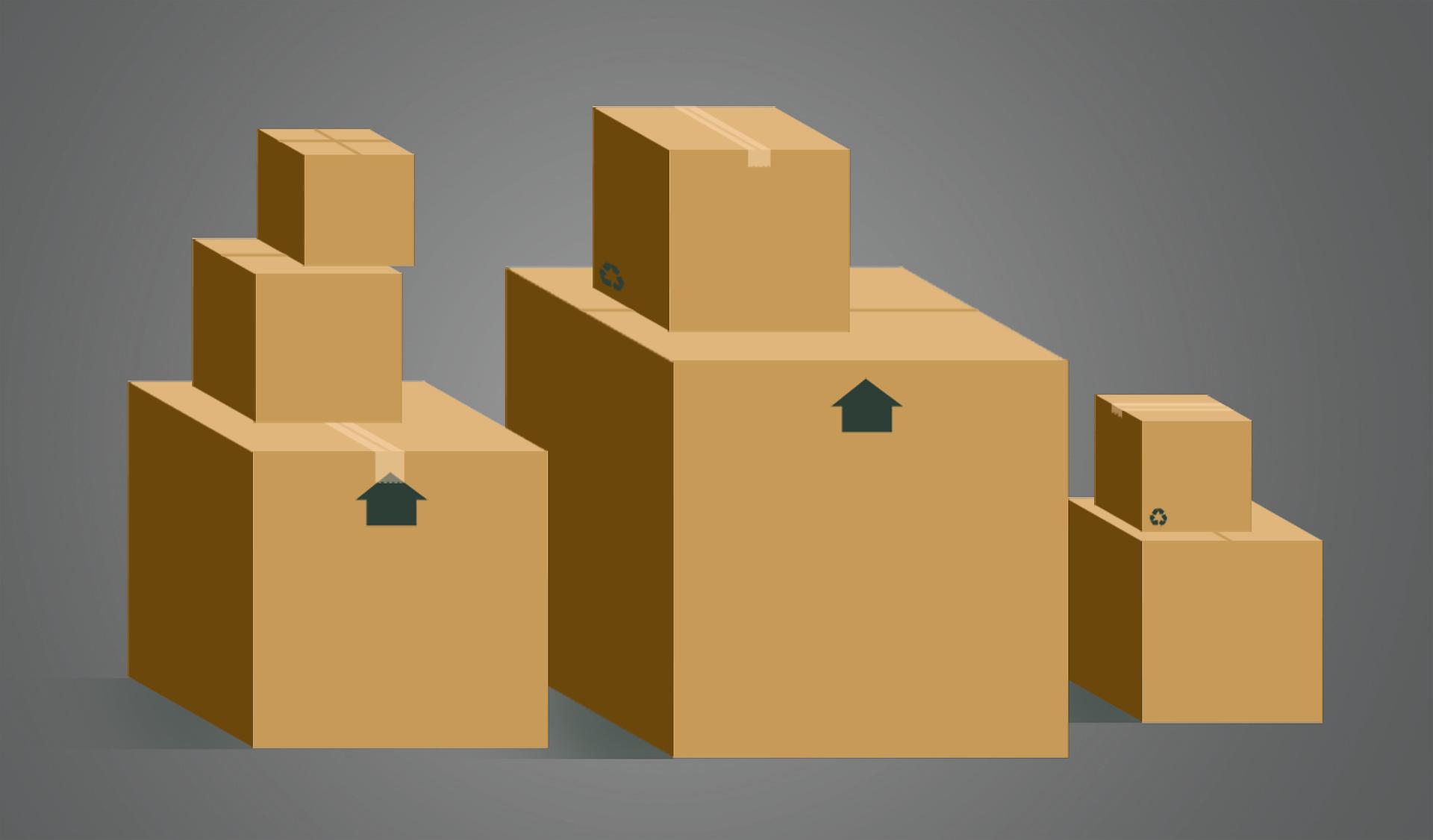 Imballaggi mobili e arredi
